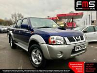 2004 Nissan Navara 2.5TD Double Cab Picup **Only 83,000 Miles - Very Clean**