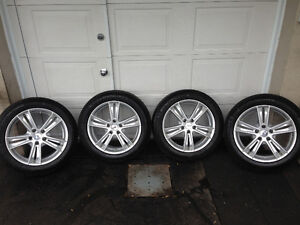 Mags CADILLAC CTS + Pneus Hiver MICHELIN Xi3 235-50-18