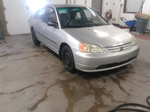 2002 civic inspected