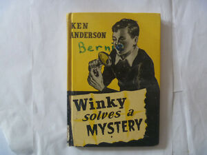 Winky Solves A Mystery by KEN ANDERSON - HC 1956
