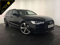 2013 AUDI A6 S LINE BLACK EDITION TDI ESTATE 1 OWNER SERVICE HISTORY FINANCE PX
