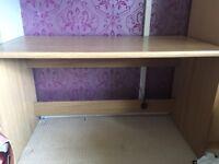 Wooden desk excellent condition