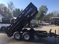 Dump trailer for hire - Hauling, Deliveries, Delivery,Shipping