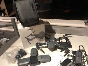 DJI MAVIC PRO DRONE WITH EXTRAS