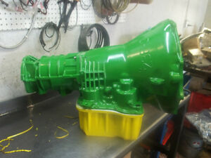 2004 REBUILT 48RE 4X4 BILLET JOHN DEERE GREEN