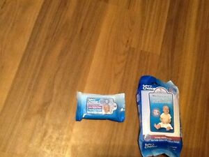 Baby wipes all new and sealed