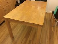 Oak Dining Table, great price!