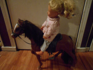our generation doll and her horse