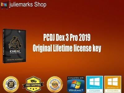 PCDJ Dex 3 Pro 2019 Original DJ Software mix music video Lifetime license key
