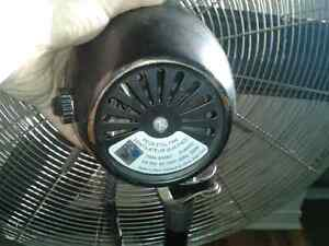 "30""pedestal industrial fan 120v"