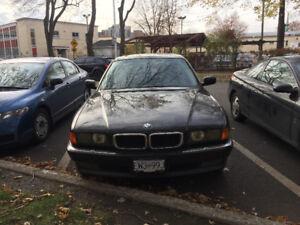 1998 BMW 740i e38 new inspection méqanique