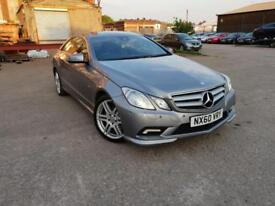 Mercedes-Benz E250 2.1 CDI B/E AMG Sport AUTOMATIC COUPE,HPI CLEAR,1 OWNER,XENON,FULL SERVICE HISTRY