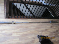 7 ft olympic bar