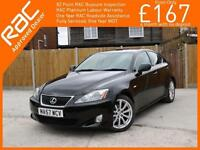 2007 Lexus IS IS250 2.5 SE 6 Speed Auto Full Leather Heated Seats Same Lady Owne
