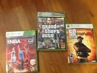 3 - Xbox360 games in excellent condition