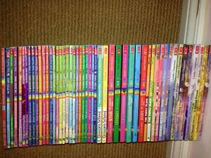 50 chapter books rainbow series by Linda chapman and more