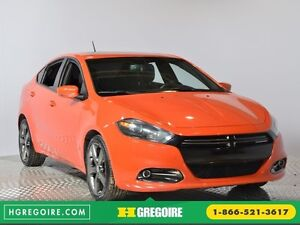 2015 Dodge Dart GT BLUETOOTH A/C CAM CRUISE SIEGES CHAUFFANT CUI
