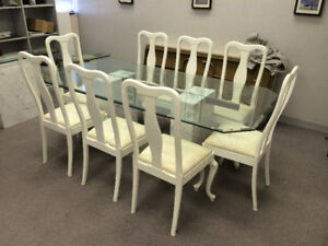 Italian Marble Dining Room Set