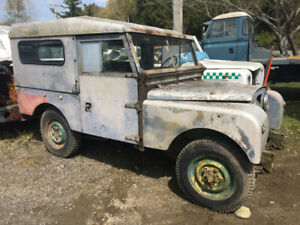 Land Rover series 1 rare Canadian market truck