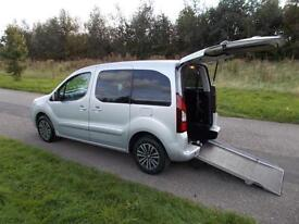 2012 Peugeot Partner Tepee 1.6 Hdi 4 SEATS + WHEELCHAIR ACCESSIBLE Disbaled wav