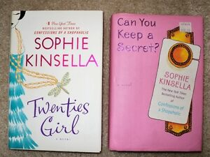 2 Hardcover Books by Sophie Kinsella  EUC