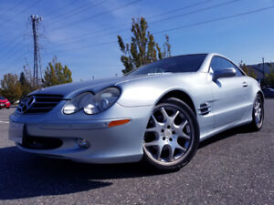 2004 Mercedes-Benz SL-Class Convertible Brabus Wheels Low Km