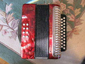Hohner Erica Button Accordion (Key C/F)  Great Condition
