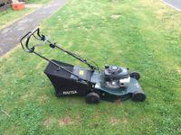 Hayter Petrol lawn mower in good condition runs fine and ready 2 go £70