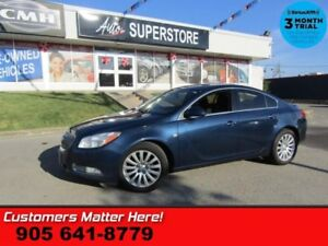 2011 Buick Regal CXL Turbo  LEATHER PWR-SEATS DUAL-CLIMATE PARK-
