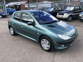 Peugeot 206 2.0HDi 90 * LX * 2002 * ONLY 85K * SEPTEMBER MOT *