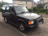 Land Rover discovery 2.5 td5 gs 7 seater 2001 registered