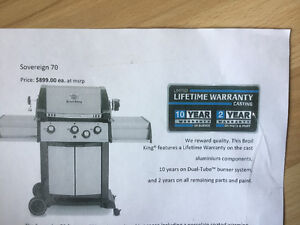 Brand new in a box Sovereign 70 Broil King Bbq
