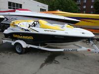 jet boat 15' Sportster 4 Tec 215HP Sea Doo Speedster 150