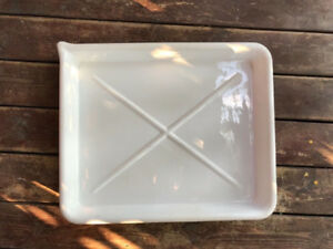 VINTAGE PATERSON PRINT DEVELOPING TRAY 20x 24 White Plastic