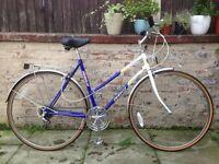 Emmelle Diamond Ladies Retro Vintage Town Bike 20 Inch Frame 5 Speed Excellent Condition
