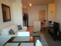 Dec 24: Furnished Downtown Suite next to Union & Financial Area