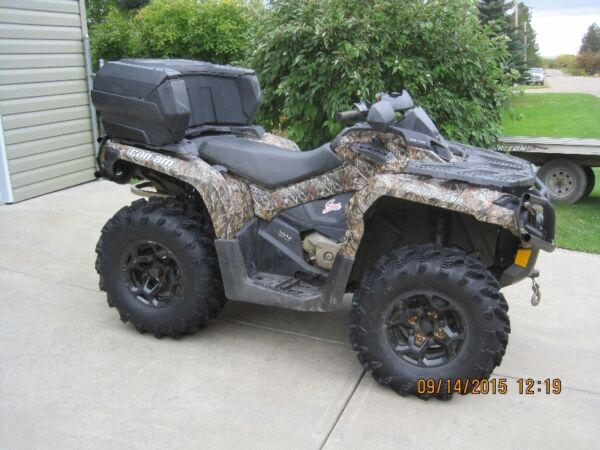 Used 2012 Can-Am Can Am Outlander XT 800 R