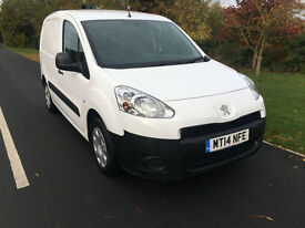 2014 14 PEUGEOT PARTNER SE 1.6 HDI L1 3 SEATS DIESEL 1 COMPANY OWNER