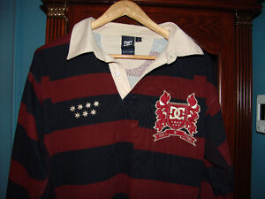 DC Shoes Co Long sleeve Polo  Mens Size L