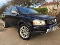 2010 59 Volvo XC90 2.4 AWD Geartronic D5 Executive 8 SERVICES SATNAV PX TO CLEAR