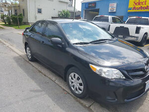 2013 Toyota Corolla with only 72,000 KM!! (manual transmission)