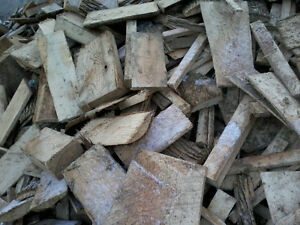 firewood: ebarked slabwood