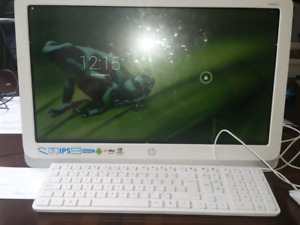 """HP 21"""" portable touch tablet"""