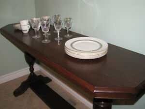 Beautiful Decorative Wood Side Table  Only $180.
