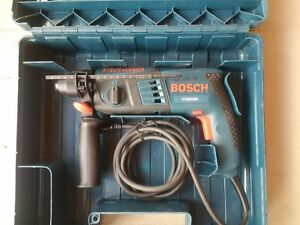 Bosch rotary hammer drill with case SDS Plus