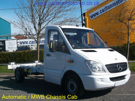 2008/58 Mercedes Sprinter 311Cdi Chassis Cab Low mileage Automatic