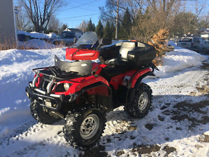 Yamaha Grizzly 660 2005 full équipe gros pneux bas milage