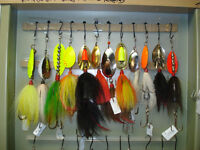 BUCK TAIL PIKE AND MUSKY SPINNERS