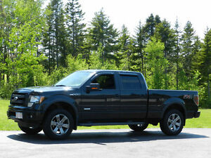 2014 Ford F-150 SuperCrew FX4 Leather int