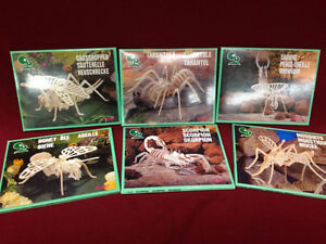 WOODEN 3-D PUZZLES  $6.00 EACH OR ALL FOR $30